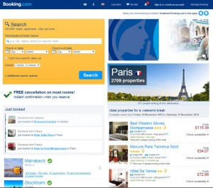 booking-com-home-page